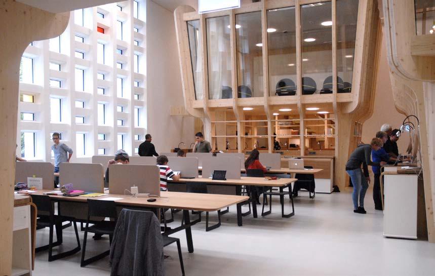 Für Die Bedürfnisse Der Neuen Stadtschule In St. Gallen Wurde Das  Raumangebot 2014 Durch Klaiber Partnership AG Architekten | Innenarchitekten  Neu ...